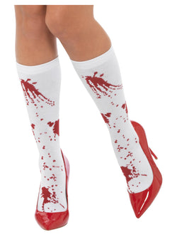 Adult Blood Splatter Socks - The Halloween Spot