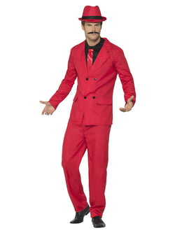 Men's Red Zoot Suit
