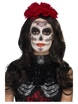 Day of the Dead Glamour Black Make-Up Kit