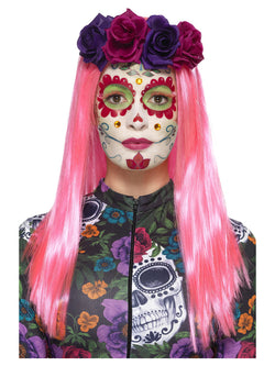 Day of the Dead Sweetheart Make-Up Kit - The Halloween Spot