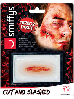 Smiffys Make-Up FX, Horror Transfer, Cut & Slashed