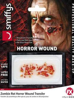 Smiffys Make-Up FX, Horror Transfer, Zombie Rot