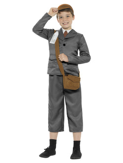 WW2 Evacuee Boy Costume - The Halloween Spot