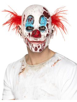 Zombie Clown Mask, Foam Latex - The Halloween Spot