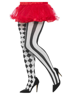 Harlequin Tights, Plus Size - The Halloween Spot