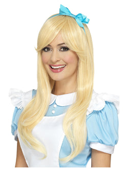 Deluxe Blonde coloured Alice Wig