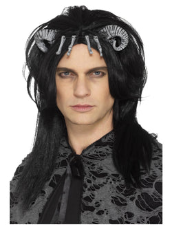 Black coloured Demonic Creature Wig