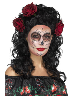 Deluxe Day of the Dead Wig - The Halloween Spot