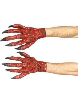Latex made Devil Hands