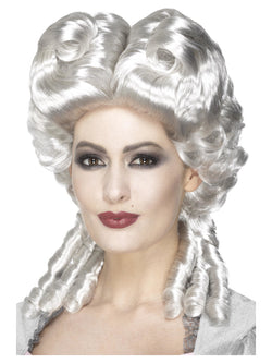 White colour Marie Antoinette Wig