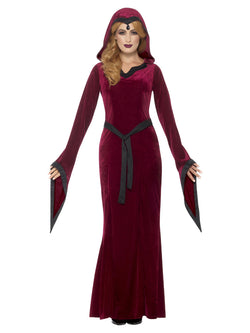 Red Medieval Vampiress Costume