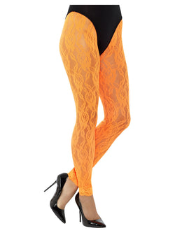 80s Lace Leggings - The Halloween Spot