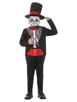 Day of the Dead Boy Costume - The Halloween Spot