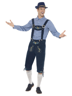 Men's Traditional Deluxe Rutger Bavarian Costume