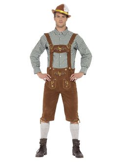 Men's Traditional Deluxe Hanz Bavarian Costume - The Halloween Spot