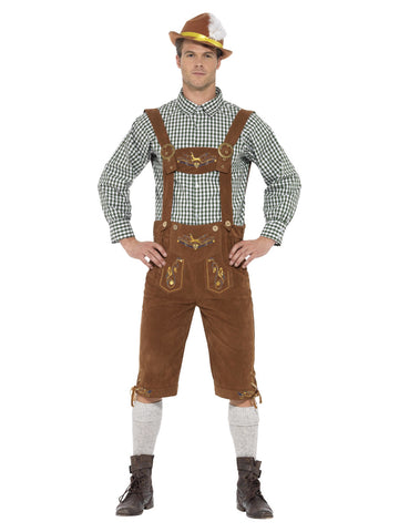 Men's Traditional Deluxe Hanz Bavarian Costume
