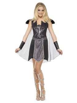 Women's Dark Warrior Costume - The Halloween Spot