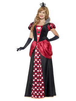 Women's Royal Red Queen Costume
