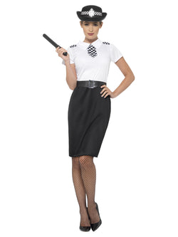 British Police Lady Costume - The Halloween Spot