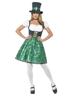 Leprechaun Lass Green Costume