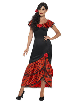 Women's Flamenco Senorita Costume - The Halloween Spot
