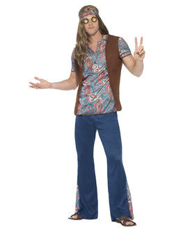 Men's Orion the Hippie Costume - The Halloween Spot