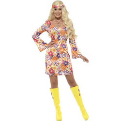 Women's Flower Hippie Costume