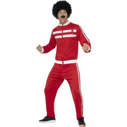 80's Scouser Red Tracksuit