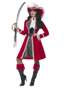 Women's Deluxe Authentic Lady Captain Costume