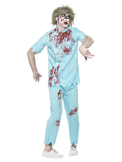 Men's Zombie Dentist Costume - The Halloween Spot