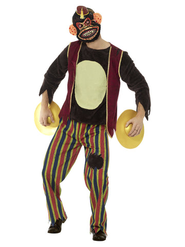 Multi-coloured Deluxe Clapping Monkey Toy Costume