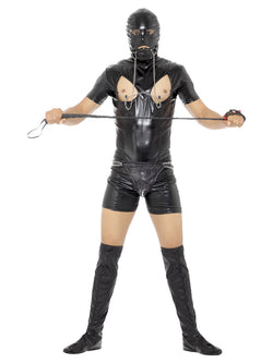 Bondage Gimp Costume with Bodysuit - The Halloween Spot