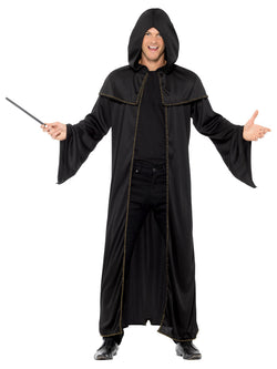 Adult black coloured Wizard Cloak