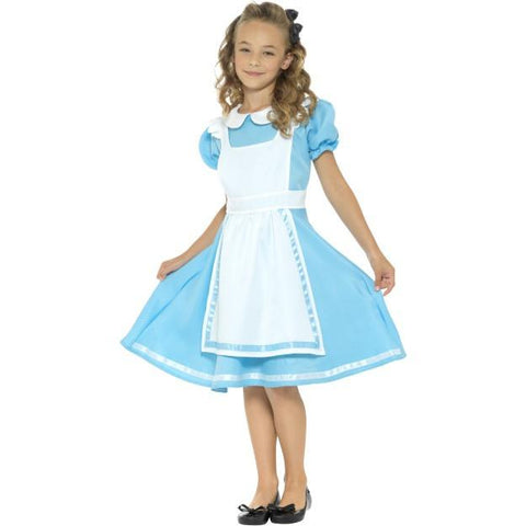 Wonderland Princess Blue Costume for kids