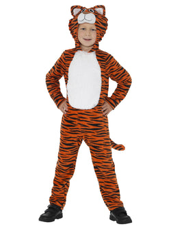 Orange & Black Unisex Tiger Costume