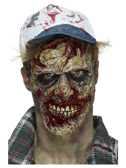 Foam Latex Brown Zombie Face Prosthetic
