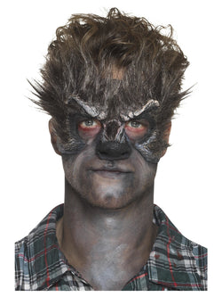 Foam Latex Brown Werewolf Head Prosthetic
