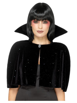 Black Evil Queen Cape