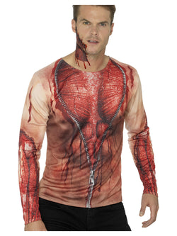 Ripped Skin T-Shirt - The Halloween Spot