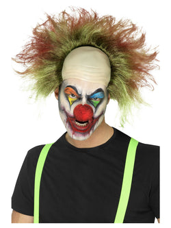 Green Sinister Clown Wig