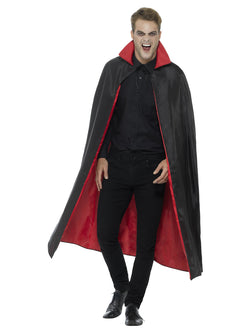Black and Red Reversible Vampire Cape