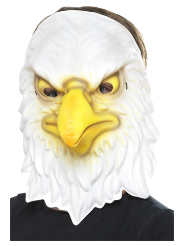 White and Yellow EVA Kids Eagle Mask