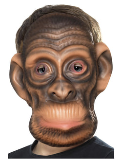 Brown EVA Chimp Mask