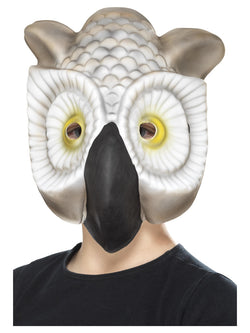 Grey & white EVA Owl Mask