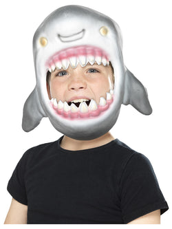 Grey EVA Shark Full Head Mask