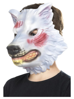 Grey EVA Wolf Mask