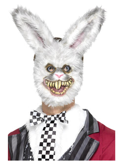 White Fur Rabbit Mask