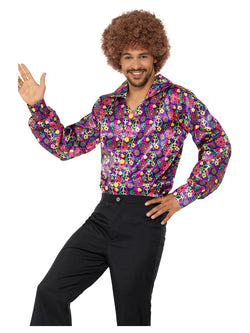 Men's 60s Psychedelic CND Shirt - The Halloween Spot