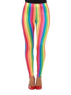 Rainbow Clown Leggings, Multi-Coloured