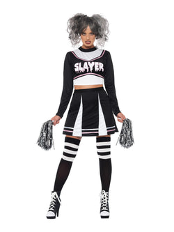 Fever Gothic Cheerleader Costume - The Halloween Spot
